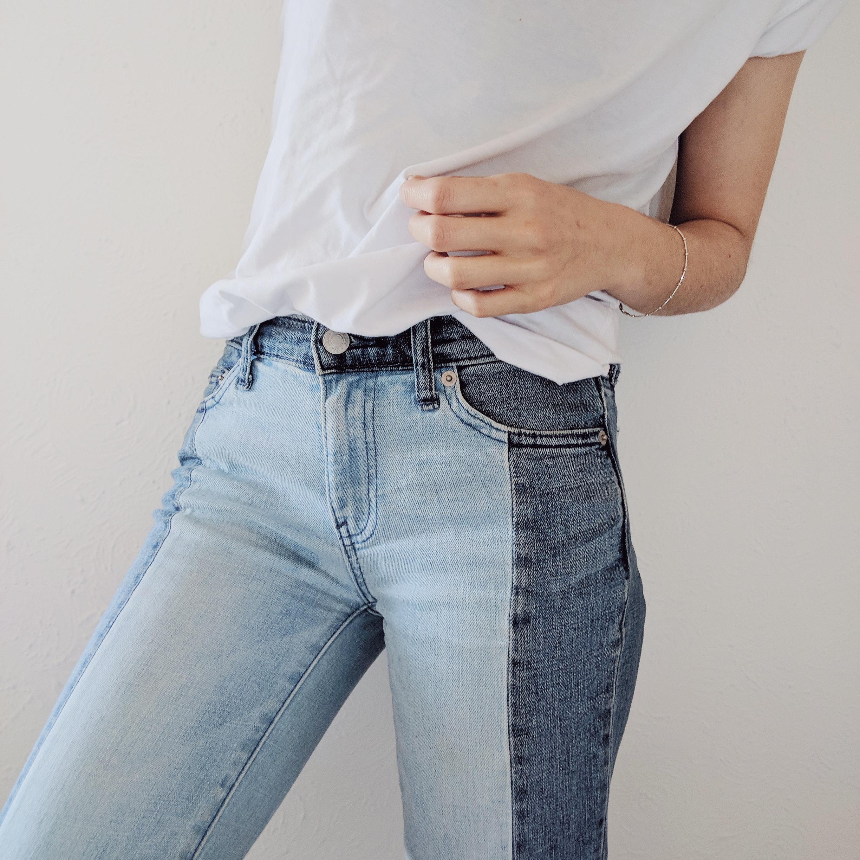 6 ways to wear duo-tone denim