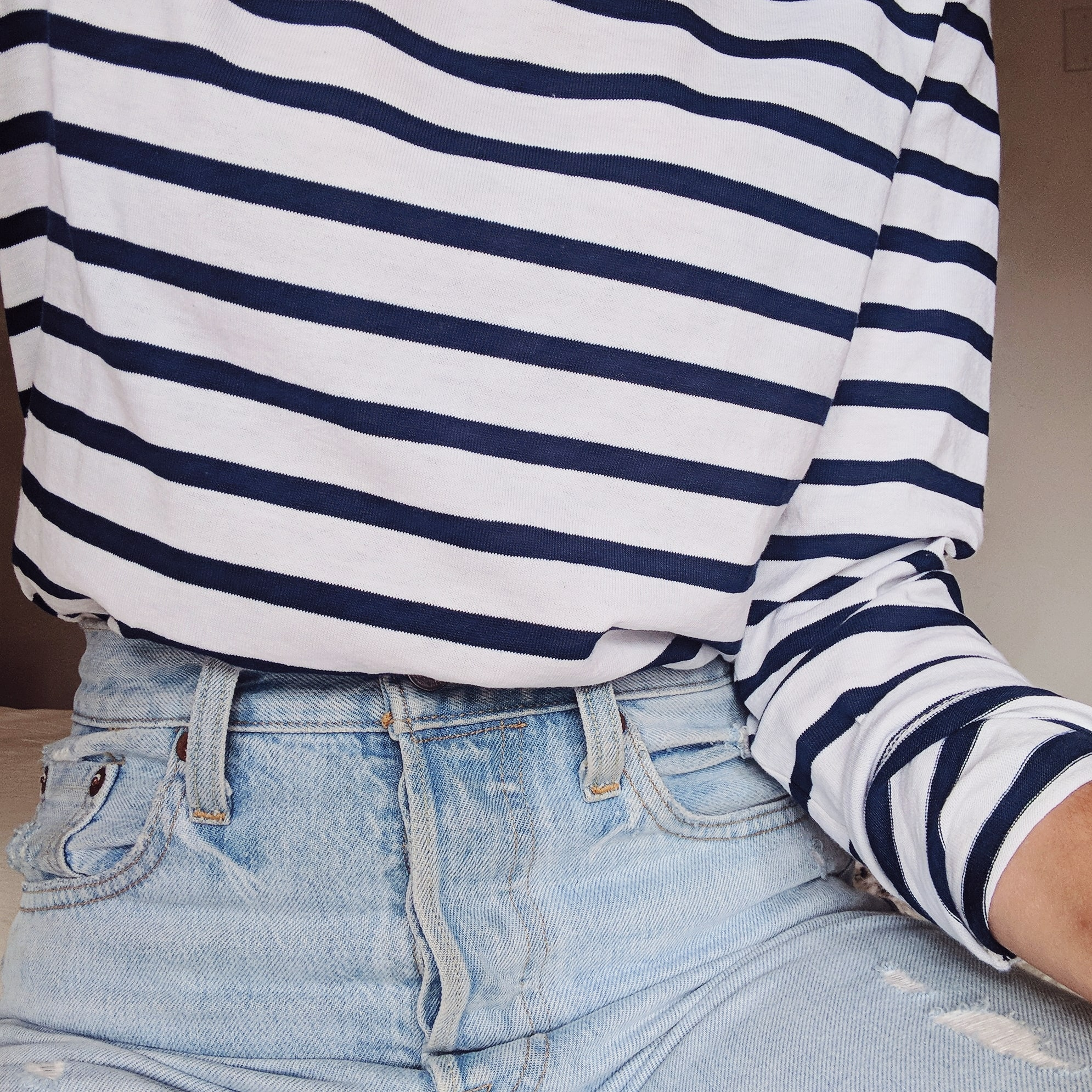 The fabric behind the Breton Top – and why it's amazing.
