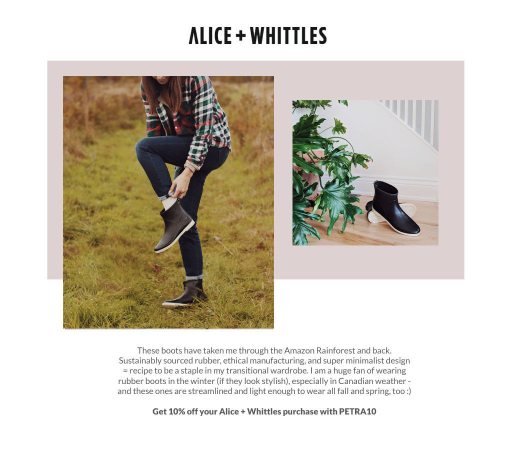 Get 10% off your Alice + Whittles order with PETRA10