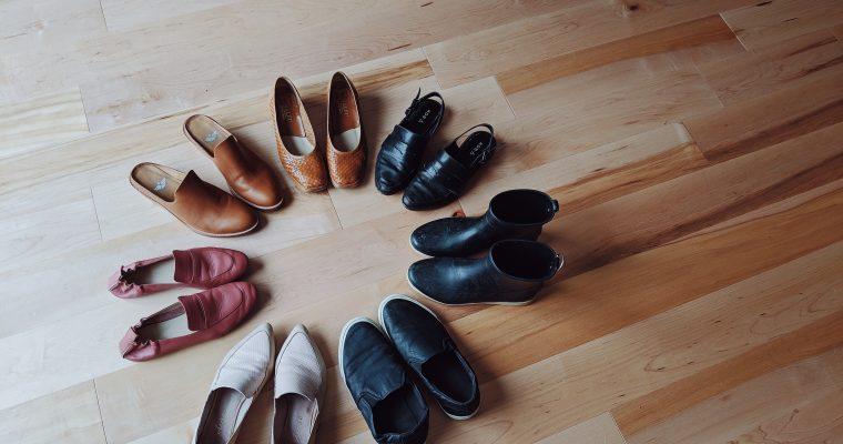 My Spring footwear capsule