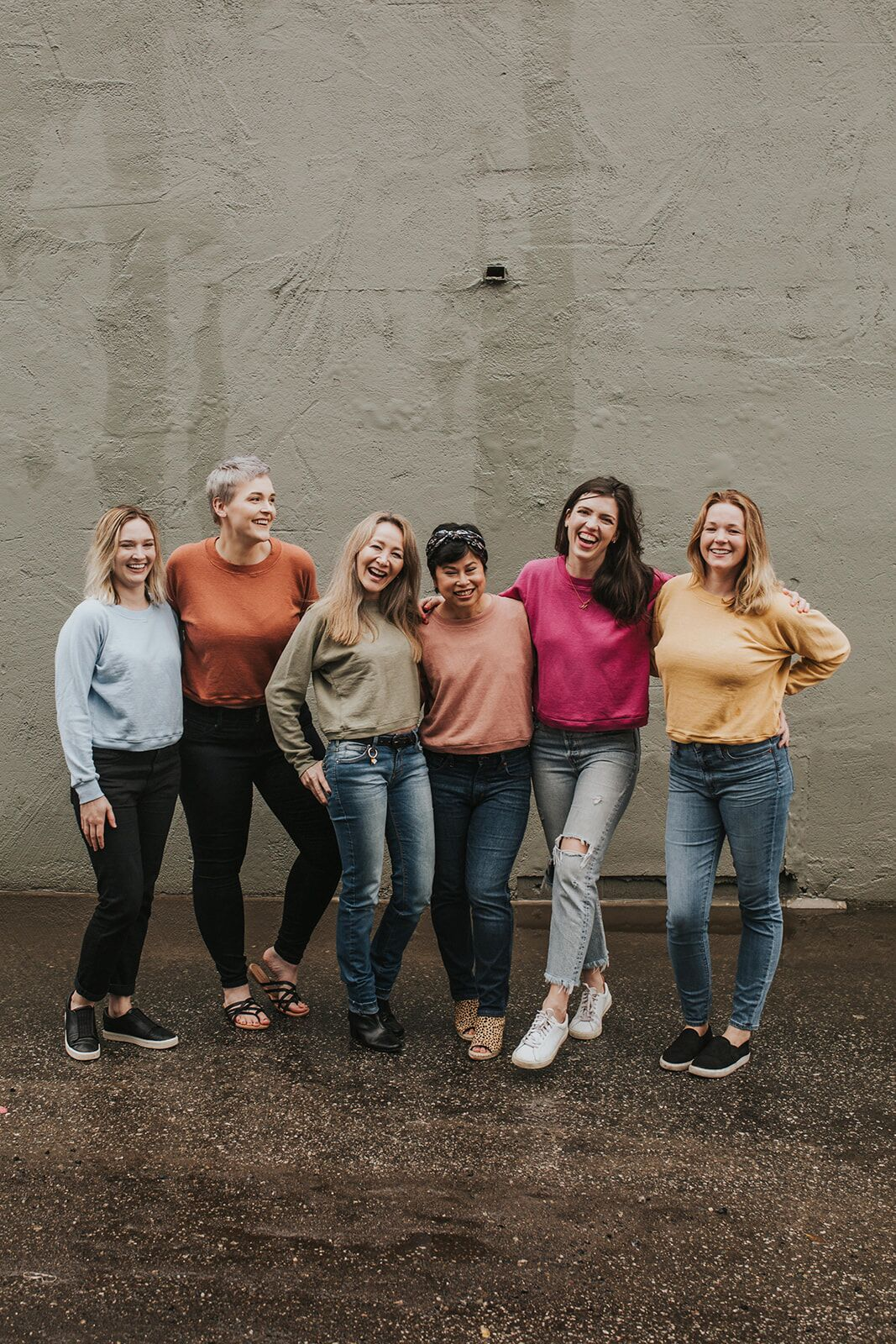 4 ways to style a sweatshirt