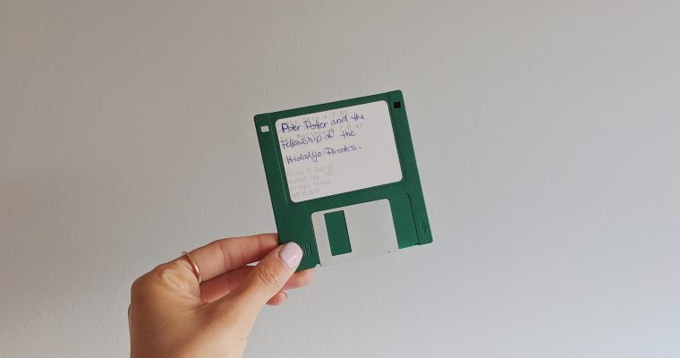 A Harry Potter Fanfic from a 3.5 Floppy Disc