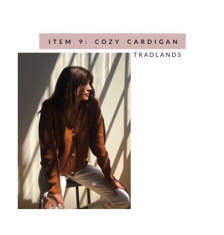 Tradlands Clay Knit Cardigan