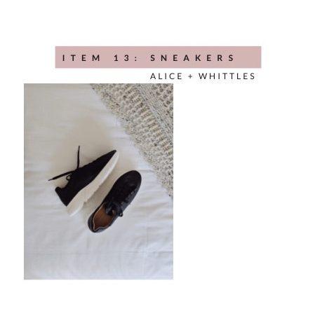 Alice + Whittles Minimalist Sneakers