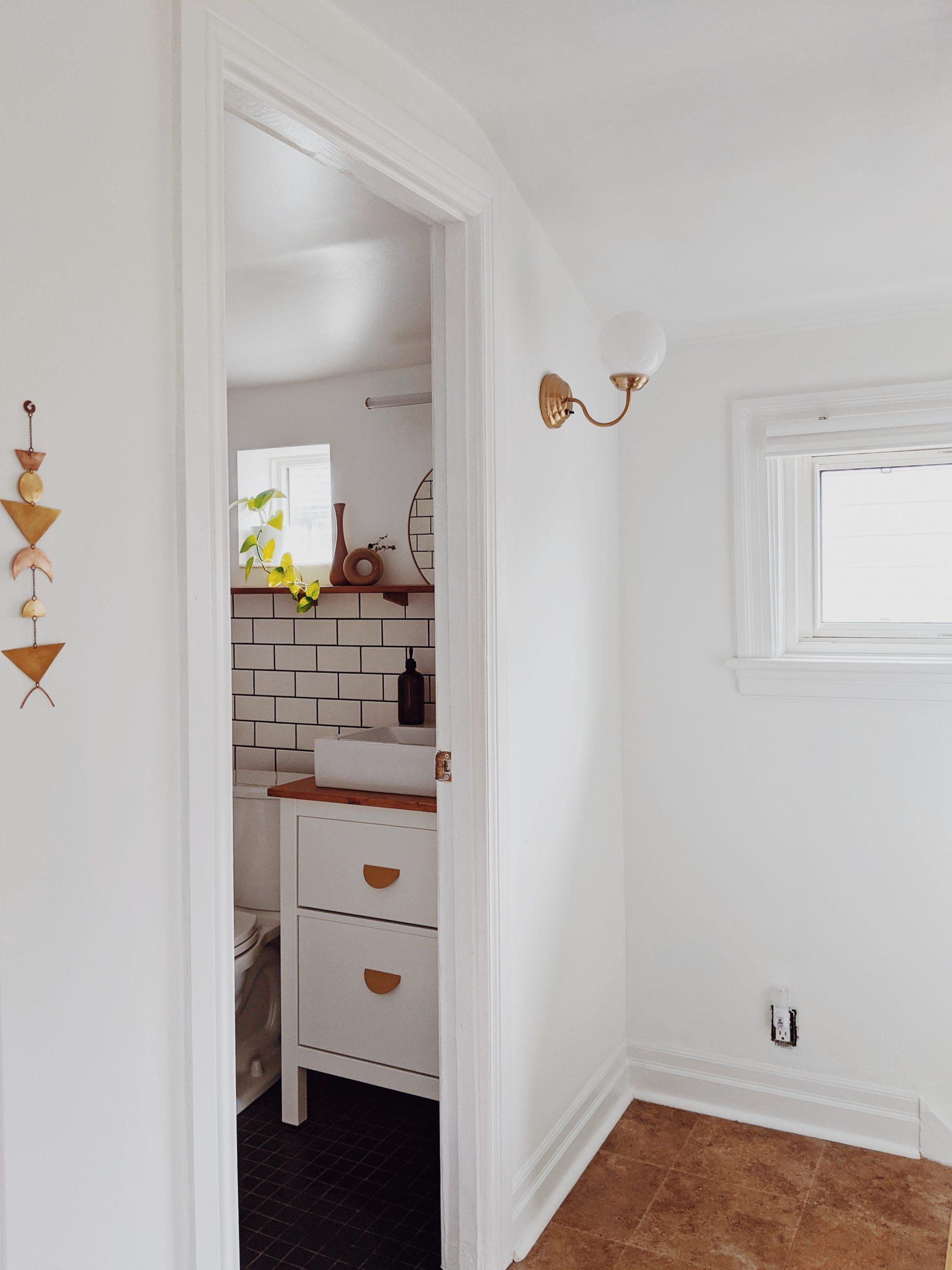 Main bathroom reno reveal