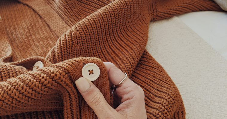 Comparing Cardigans: L'Envers & Tradlands
