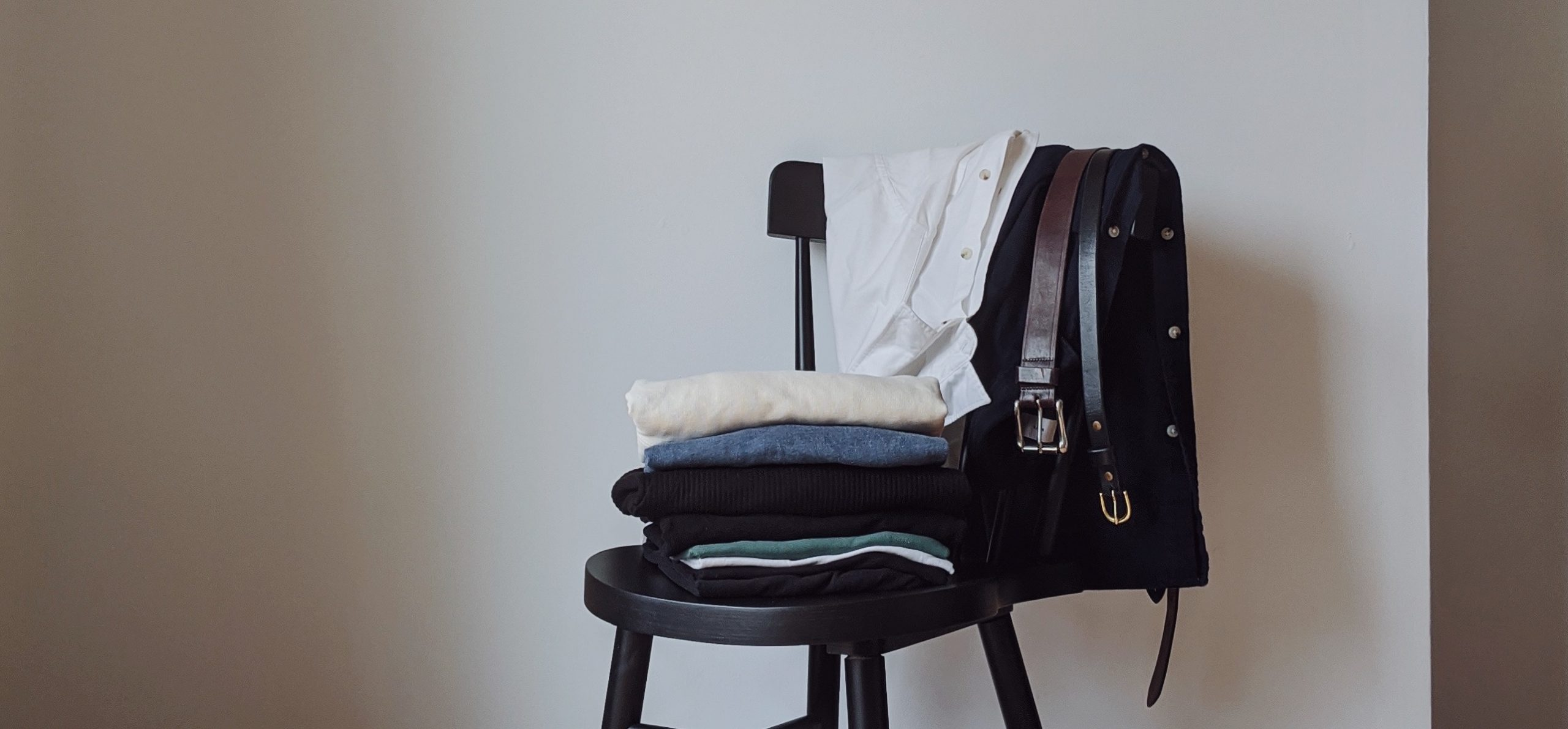 A loungewear capsule, styled with Kotn